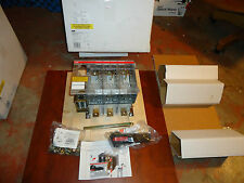 ABB  DISCONNECT SWITCH 600VOLTS / 200AMPS  CAT # OES-200J3  NEW / FUSE/ W/HANDEL