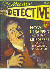 MASTER DETECTIVE MAGAZINE May 1933 Texas House of Horror VINTAGE True Crime Pulp