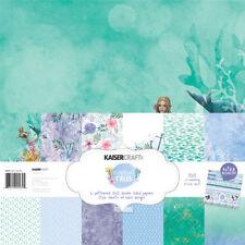 *A&B* KAISERCRAFT Scrapbooking Paper Pack - Mermaid Tales - PK534