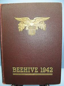1942 Beehive, New Britain Senior High School, New Britain, Connecticut Yearbook