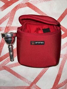 Yamaha Tuba Mouthpiece 66 with protec case