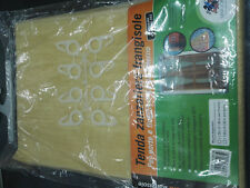 Tenda zanzariera 150x250cm frangisole beige per porta insetti zanzare mosche pvc