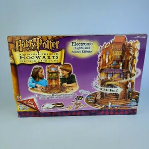 Harry Potter Adventures Through Hogwarts Electronic 3-D Game NEW