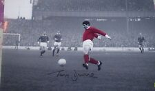 Tony Dunne Football hand signed authentic photo AFTAL dealer M553
