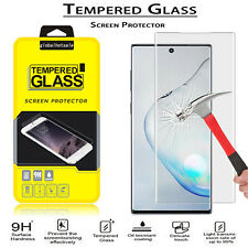 For Samsung Galaxy Note 10 Plus Tempered Glass Screen Protector W/Finger Sensor