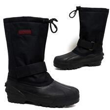 Para hombre de nieve las botas de invierno impermeable Joyero Térmica Wellingtons Piel botas de esquí 7 -12