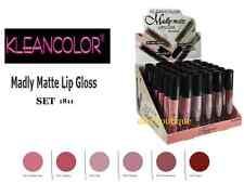 6  PCs set Kleancolor Madly Matte Lipgloss Bold Vivid Nude Beige natural  1811