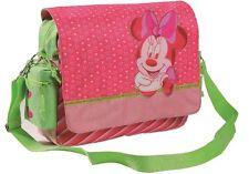 Disney Minnie Mouse sac à bandoulière avec sangle rose/vert (