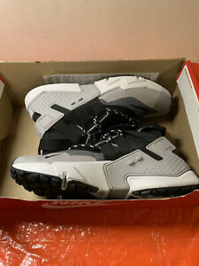 Nike Air Huarache Gripp Running Shoes Grey Black AO1730-004 Men's Size 13