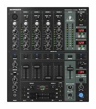 NEW Behringer DJX750 5-Channel DJ Mixer, Digital-FX, BPM, 3-band kill EQ