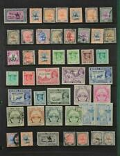 BRITISH COLONIES & COMMONWEALTH STAMPS SELECTION ON  STOCK CARD   (F89)