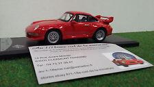 PORSCHE GT2 993 rouge 1996 échel 1/43 SOLIDO 433196 voiture miniature collection