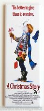 A Christmas Story Fridge Magnet (1.5 x 4.5 inches) insert movie poster