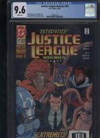 Justice League America #57 CGC 9.6 Giffen DeMatteis 1991 of
