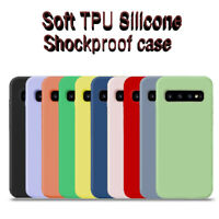 For Samsung S10 S9 S8 Plus Note 10 9 8 Soft TPU Silicone Shockproof Case Cover