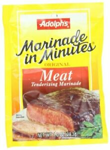 Adolph's Marinade In Minutes Meat Marinade 1 oz Pack of 8