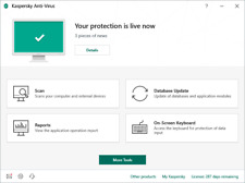 Kaspersky Anti-Virus 2019 - 4pc/1yr Global