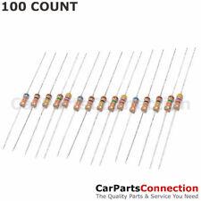 100 X 15K Ohm Flame Retardant Carbon Film Resistors 1/4 Watt 5% Shipping From US