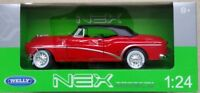 Welly 1/24 ,Buick Skylark 1953 Soft  Top - Red  , Classic Metal Model Car