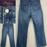 NYDJ Not Your Daughters Jeans Embellished Denim Straight Leg Womens Sz 10 31X30