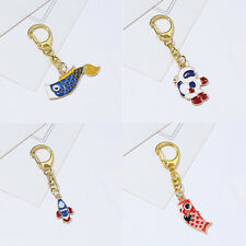 Keychain Jewellery Long Chain Key Ring Fashion Gifts Mini Cute Animal Car Metal