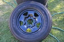 5 x near new Toyota Land Cruiser 200 factory tyres steel rims