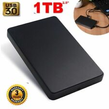New High Speed USB3.0 1TB External Hard Drives Portable Mobile Hard Disk Case