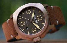 Lum-Tec Watch - M Series M83 Bronze Automatic Mens Suede Leather Strap AUTH DEAL