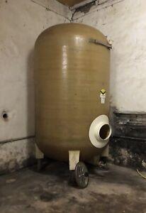 Weintank Gfk Tank Zisterne AHL Molke Lagertank Wassertank IBC 5000 Liter