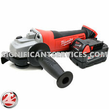 "New Milwaukee M18 2680-20 4 1/2"" Cordless Cut Off Angle Grinder 5.0 Ah Battery"
