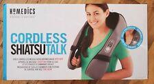 HoMedics Cordless Shiatsu Talk Voice Controlled Neck & Shoulder Massager