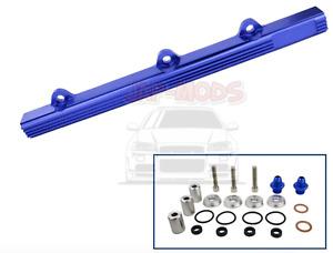 BEAND NEW B-series fuel rail Honda blue DOHC B18/ B16/ EK9/ EK4/ CRX/DC2