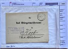 Rarität SCHWEIZ historischer Brief von 1891