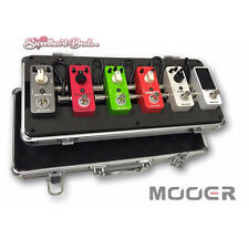 Mooer Firefly M6 Flight Case Pedal Board For Micro Series Pedals and Mini Pedals