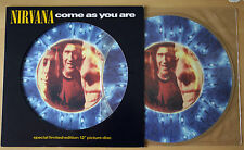 "EX/EX! NIRVANA COME AS YOU ARE 12"" VINYL PICTURE PIC DISC"