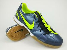 Nike Mens Rare Total90 Shoot lll IC 385440-470 Grey Indoor Soccer Shoes Size 11