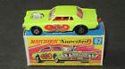 Super RARE FACTORY wheel error Matchbox Superfast #62 Mercury Cougar Dragster