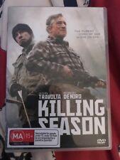 💕Killing Season (2013) John Travolta,  Robert De Niro R1 DVD Like New💕