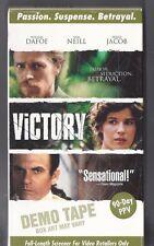 VICTORY VHS OOP DEMO TAPE William DaFoe / Sam Neill