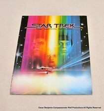Star Trek:  The Motion Picture Theater Magazine Brochure!  1979!  Extremely Rare