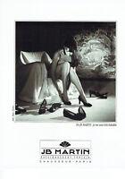 Publicité Advertising 117  1996   JB Martin  chaussures femme par Charlus