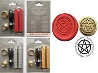 PENTAGRAM Wax Stamp Sealing Starter Kit.  Melt Handle +2 wax sticks. 119