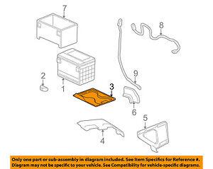 GM OEM-Battery Tray 15246518