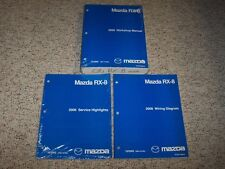 2006 Mazda RX-8 Workshop Shop Service Repair Manual Set + Electrical Wiring Book
