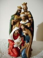 Three Kings With Holy Family Nativity All-in-One, NWT