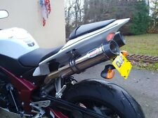 Yamaha YZF R1 4C8 07-08 Stainless Oval, Carbon Outlet ROAD - LEGAL Exhausts
