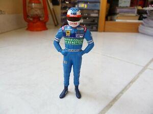 Figurine Jean Alesi Benetton Renault 1997 1/18 F1 Formula 1 Rare MINICHAMPS