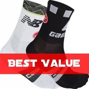 Castelli Cannondale and Qhubeka Unisex Cycling Socks : BEST VALUE