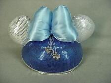 Disneyland 60th Anniversary Diamond Celebration Adult Minnie Ears Ear Hat - NEW