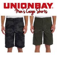 "Unionbay Men's Cargo Shorts ""Medford"" - Lightweight Cotton - VARIETY"